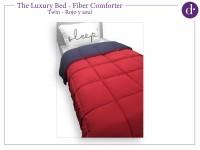 Acolchado Comforter Twin Rojo Azul