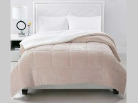 Acolchado Corderito Comforter Luxury Bed Twin Natural
