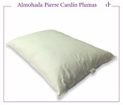 Almohada de Plumas de Duvet Pierre Cardin 65 x 45