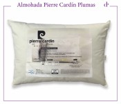 Almohada  de Plumas de Duvet Pierre Cardin  0,65 x 0,45 x 12