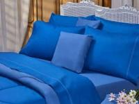 Sábanas Danubio Colors 144 Blue Full