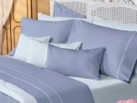 Sábanas Danubio Colors 200 hilos Queen Blue