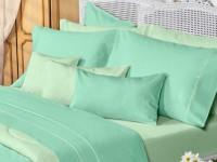 Sábanas Danubio Colors 200 hilos Queen Green
