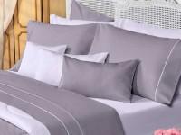 Sábanas Danubio Colors 200 hilos Queen Grey