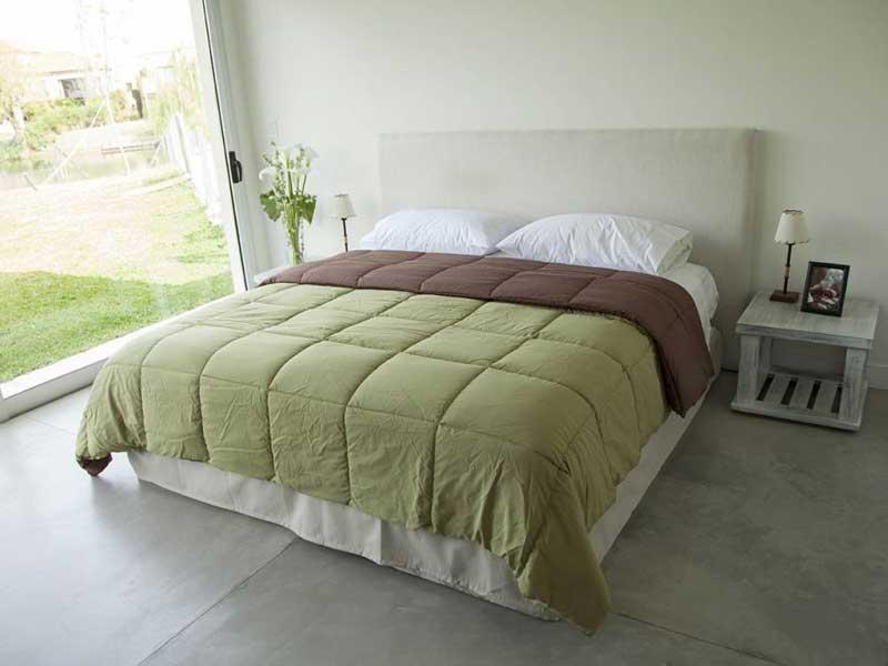 Acolchado Comforter Twin Blanco