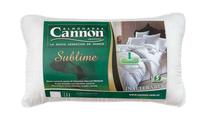 Almohada  Cannon Sublime 0,70 x 0,40 x 15