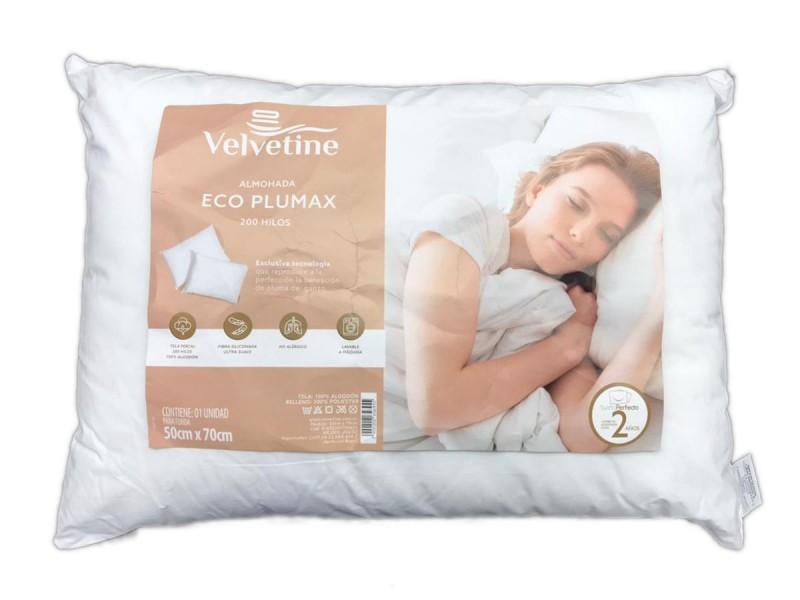 Almohada Velvetine Eco Plumax 70 x 50