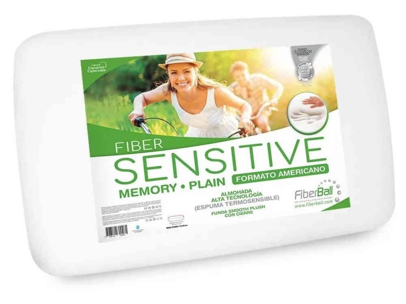 Almohada Viscoelastica Fiberball Sensitive Plain