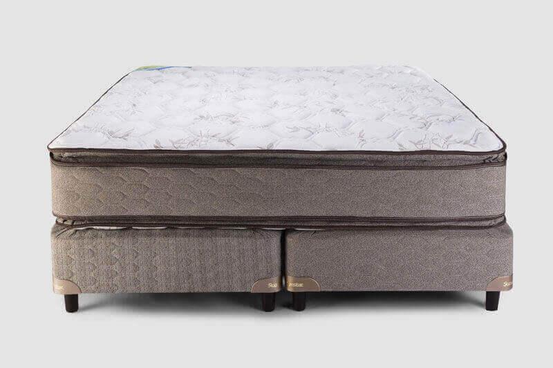 Colchón y Sommier Boreal Pillow Top 2,00 x 2,00 x 61