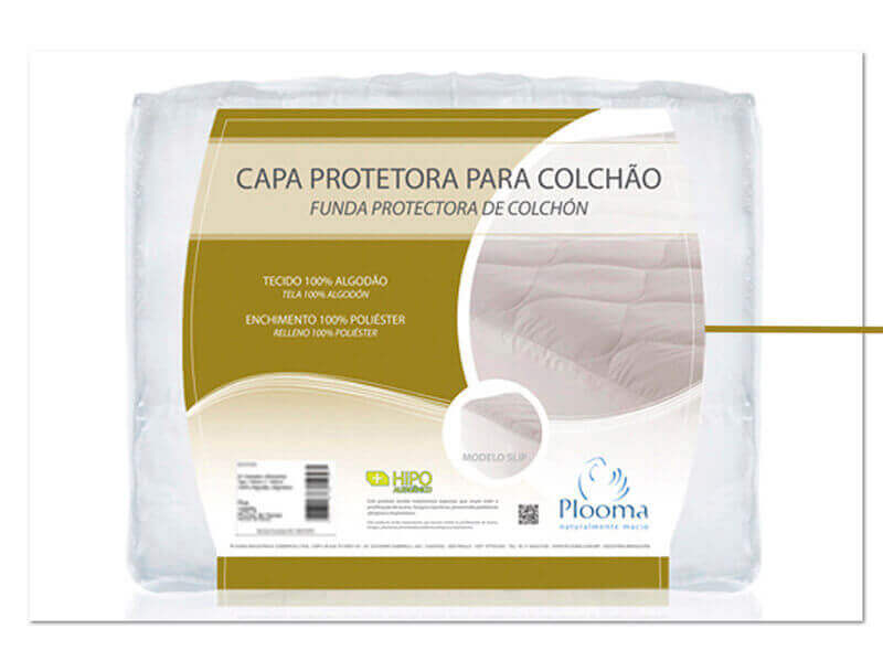Protector Impermeable Plooma Gold  1,60 x 2,00
