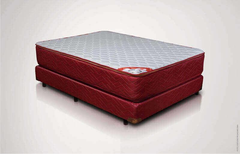Colchón y Sommier Gani Red con Pillow Top 0,80 x 1,90 x 60