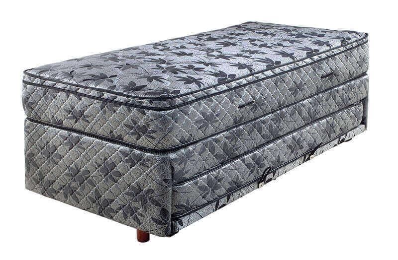 Sommier mas cama auxilar Space 0,90 x 1,90 x 60